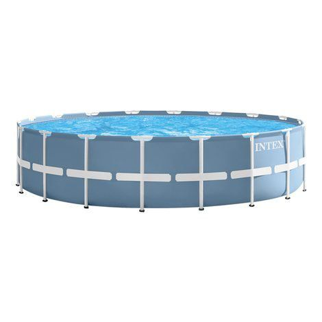 Piscina Intex 24.310 litros Estrutural 5,49 X 1,22 Completa