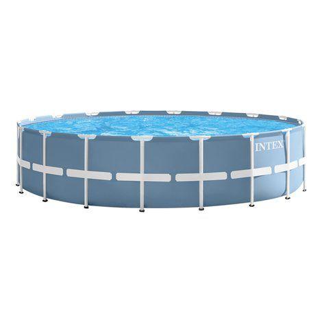 Piscina Intex 24.310 litros Estrutural Prism Completa