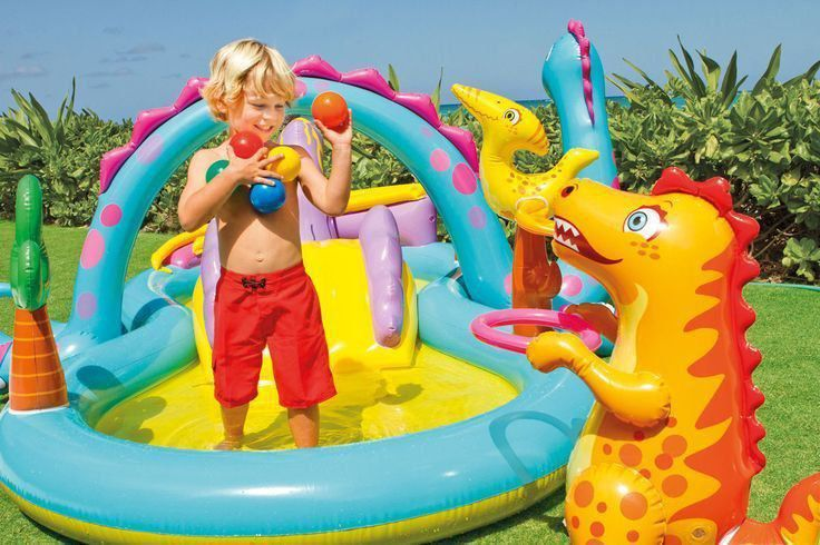 Piscina Playcenter Infantil Floresta 280 Litros Intex