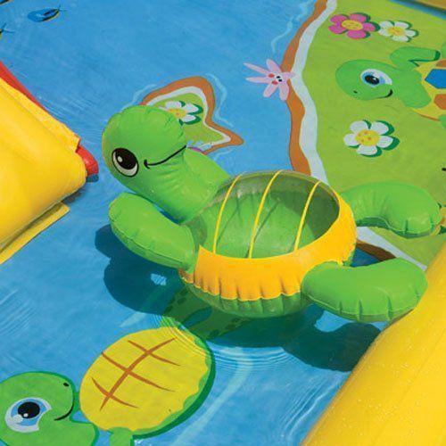 Piscina Playcenter Oceano 458l Escorregador Inflável - Intex