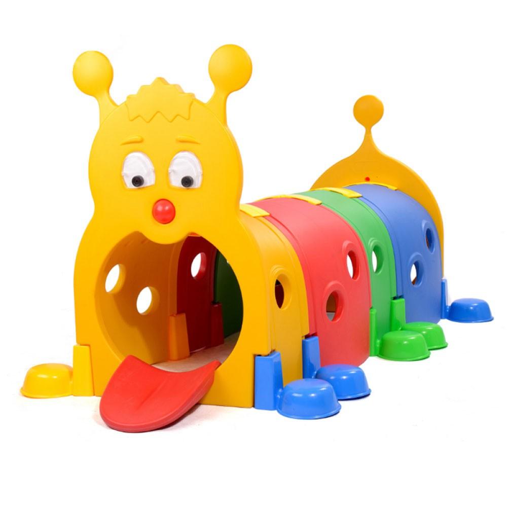 Playground Infantil Centopeia Tunel Importado