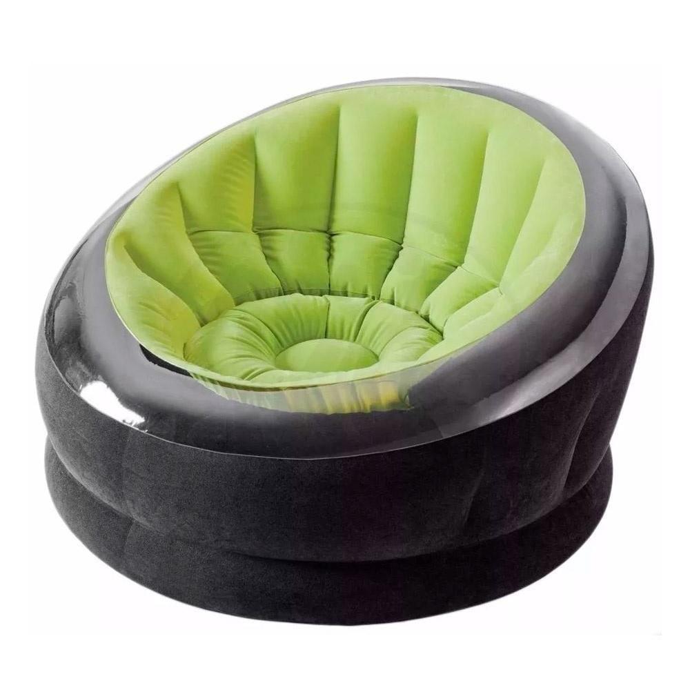 Poltrona Inflável Empire Verde até 100 Kg Intex