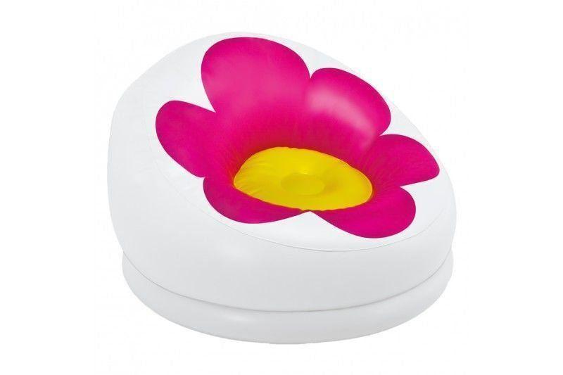 Poltrona Inflável Infantil Puff Flor - Intex