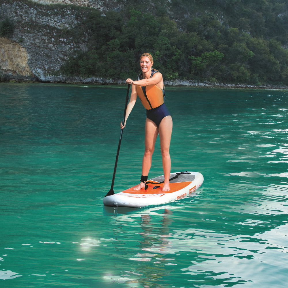 Prancha Stand Up Inflavel Aqua Journey Com Remo Bestway 65302