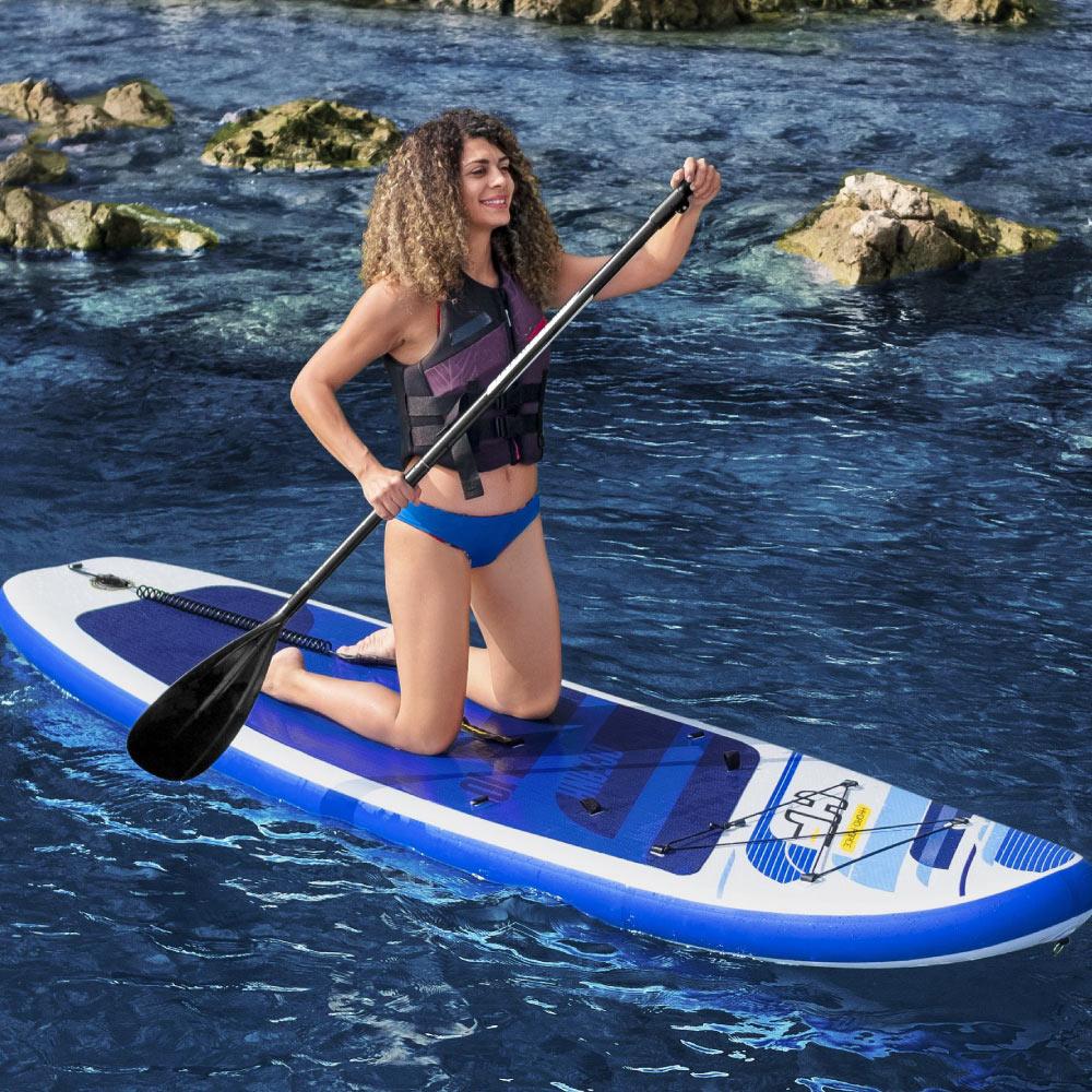Prancha Stand Up Inflável Oceana Com Remo até 120 kg -  Bestway 65350