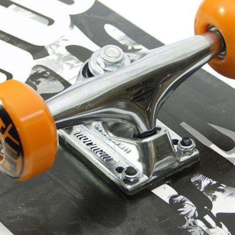 Skate Chill Street Completo Profissional Mormaii - Abec5 90a Preto