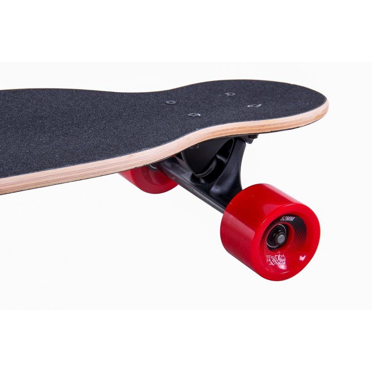 Skate long Board Alta Perfomance Mess Red Nose