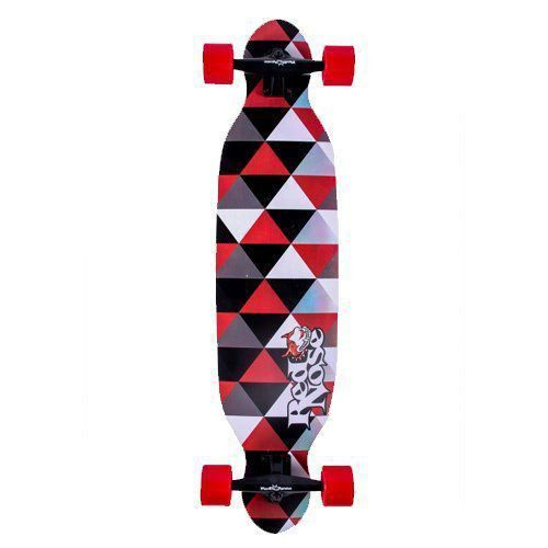 Skate long Board Alta Perfomance Shield Red Nose