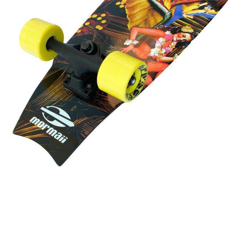 Skate Longboard Fishtail Cruiser Abec 7 Skape Maple Mormaii
