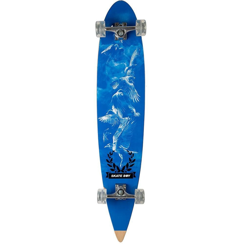 Skate Longboard Radical Azul Fenix