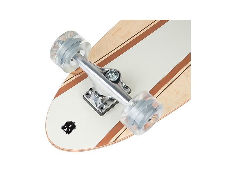 Skate Longboard Radical Bege Fenix