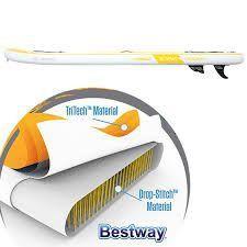 Stand Up Inflável Cruiser + Bomba de Inflar + Bolsa + Leash Bestway