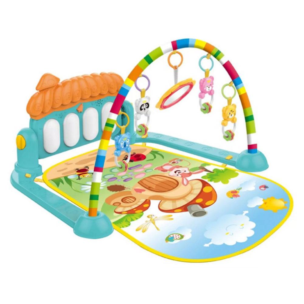 Tapete Acolchoado Infantil para Bebê Musical Piano Interativo - Importway