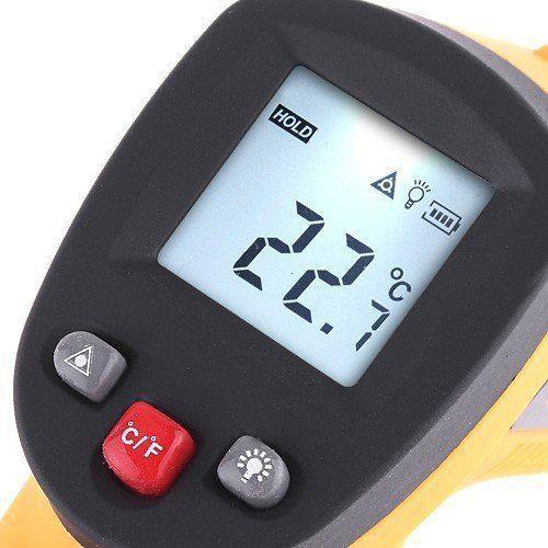 Termômetro Digital Infravermelho Com Mira Laser