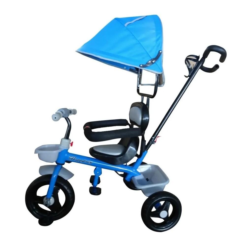 Triciclo infantil com Capota Haste 2 x 1 Importway