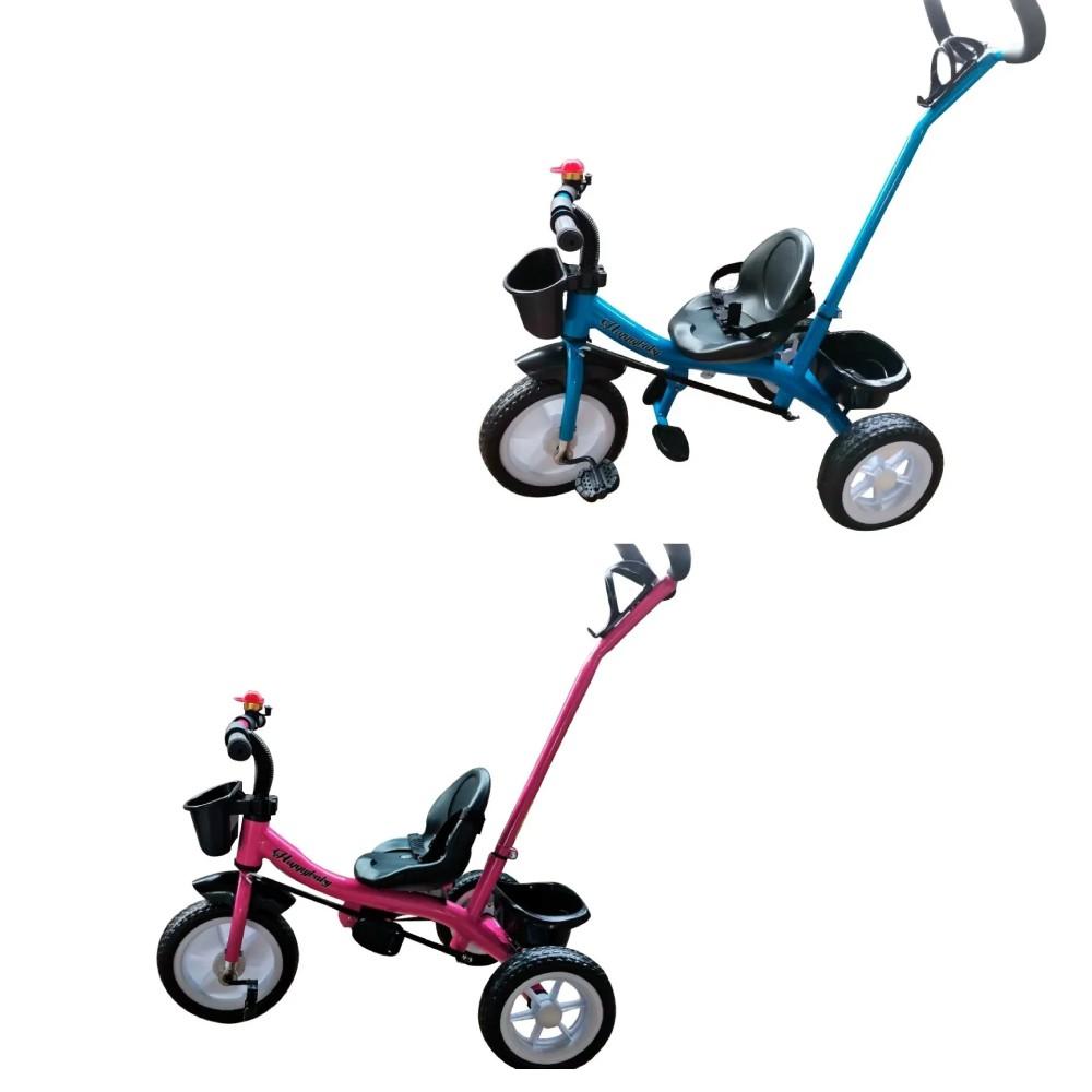 Triciclo Infantil com Haste 2 x 1 Importway