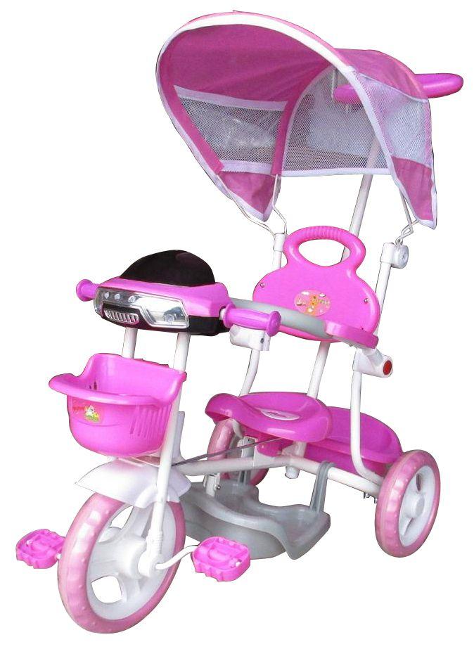 Triciclo Infantil Passeio Com Empurrador 2 Em 1 Motoca Importado