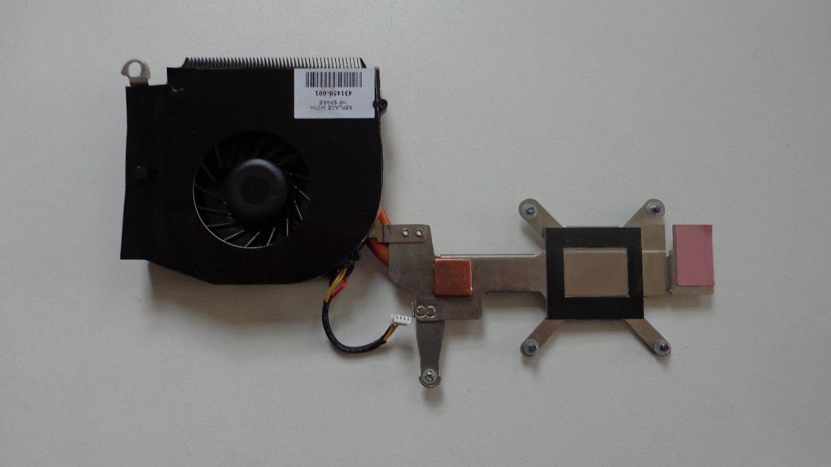 Cooler + Dissipador Original Notebook HP Compaq V6000
