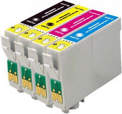 Kit Cartuchos Epson C63/C65/C66/C85/CX3500/CX4500/CX6300/CX6500 461 472 473 474