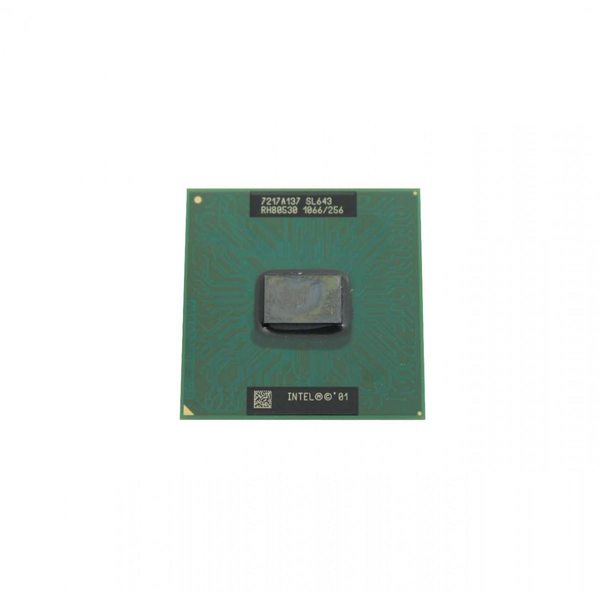 Processador Notebook Intel Celeron 1.06 GHz, 256K Cache, 133 MHz SL643
