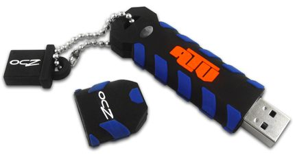 Pen Drive Ocz 02gb Atv Usb2 0 (resist Agua/choq)