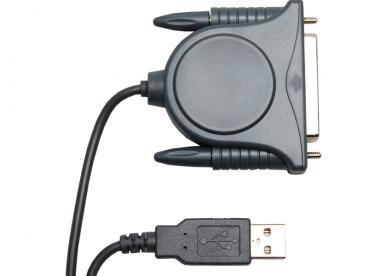 Cabo Conversor USB para Paralela DB25 Comtac 9018