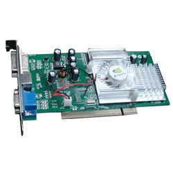 Placa de Vídeo Geforce FX5500 256MB AGP 8x