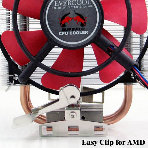 Cooler Evercool HPFA-10025 AMD Buffalo (AM2/754/939/940)
