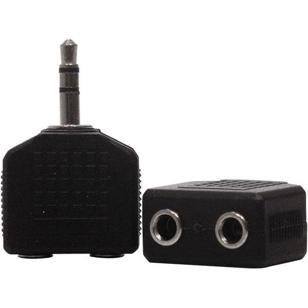 Adaptador Duplicador P2 Stereo P/ 2 J2 Stereo
