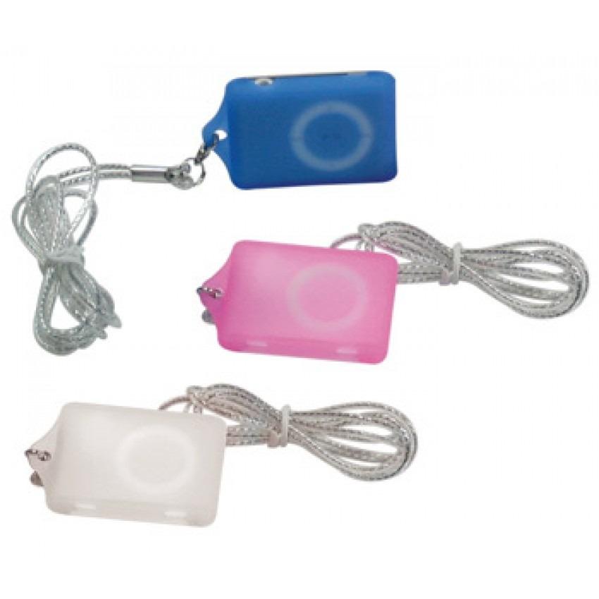 Case de Silicone para IP Shuffle 2° Geração 3 Cores Azul Rosa Branco 3104