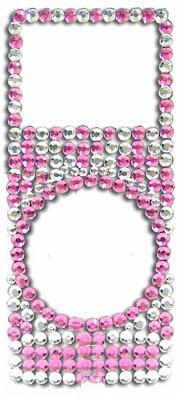 Adesivo Brilho C/ Strass iPd Nano 2 Geração Pink - 3499