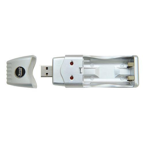 CARREGADOR DE PILHAS USB ST0808
