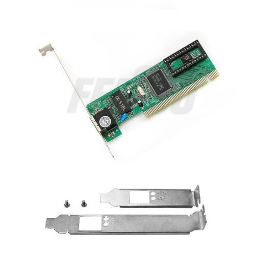 PLACA PCI FPR-01 10/100MB Feasso + Espelho Low Profile FPR-01