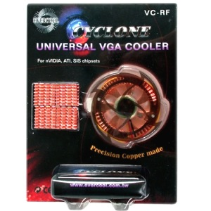 COOLER P/ PLACA DE VÍDEO EVERCOOL VC-RF(EL) CYCLONE COBRE LED