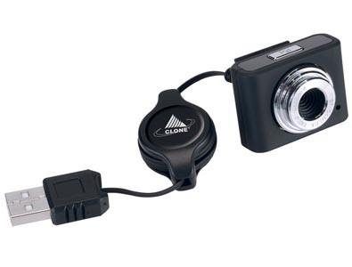 Mini Webcam Clone 1.3 c/ microfone 10022