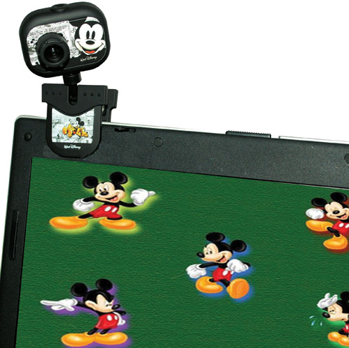 Web Cam Disney 2.0mp Clone USB Mickey Mouse 10024