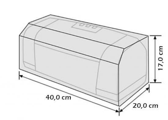 Capa P/ Impressora HP Deskjet 3820 P1005 P1102