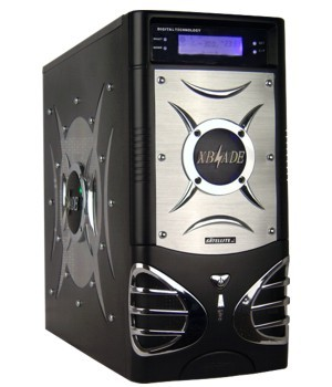 Gabinete Satellite X-Blade 511K Preto S/ Fonte C/ Display