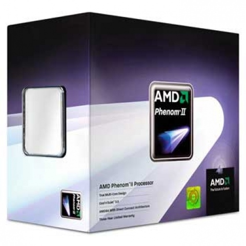 Processador AMD Phenom II X4 925 2.8GHz Quad-Core Box