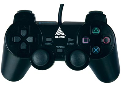 JOYPAD PARA PLAYSTATION I E II - 12 BOTÕES - VIBRATION 06166