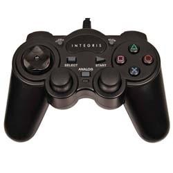 Joystick dupla vibração e colisão para PS2 e PC PS