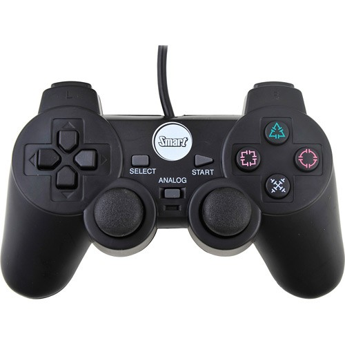 Joystick PS2 Dual Shock Blister - Smart ST-208