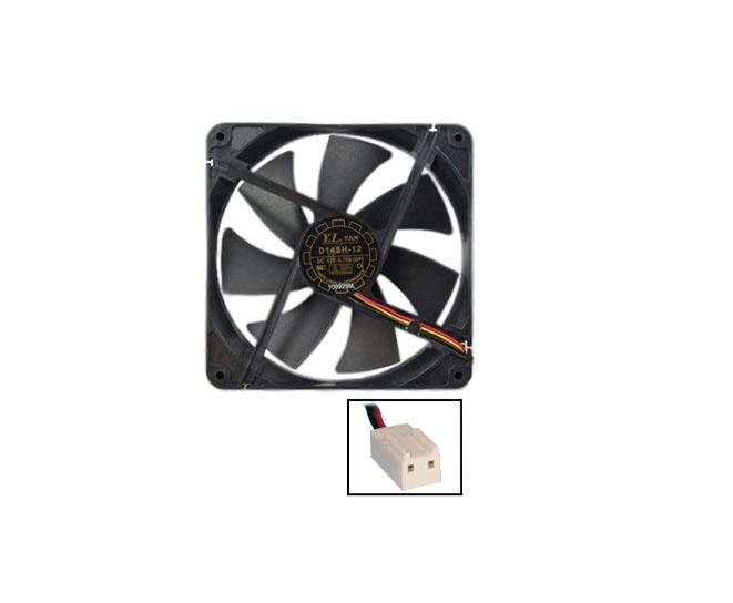 Cooler 14cm 12v 0.70A conector 2 pinos
