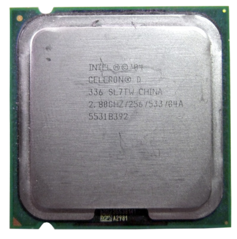 Processador Intel Celeron D 336 775 2.8 GHz 256KB 533Mhz (Semi Novo)