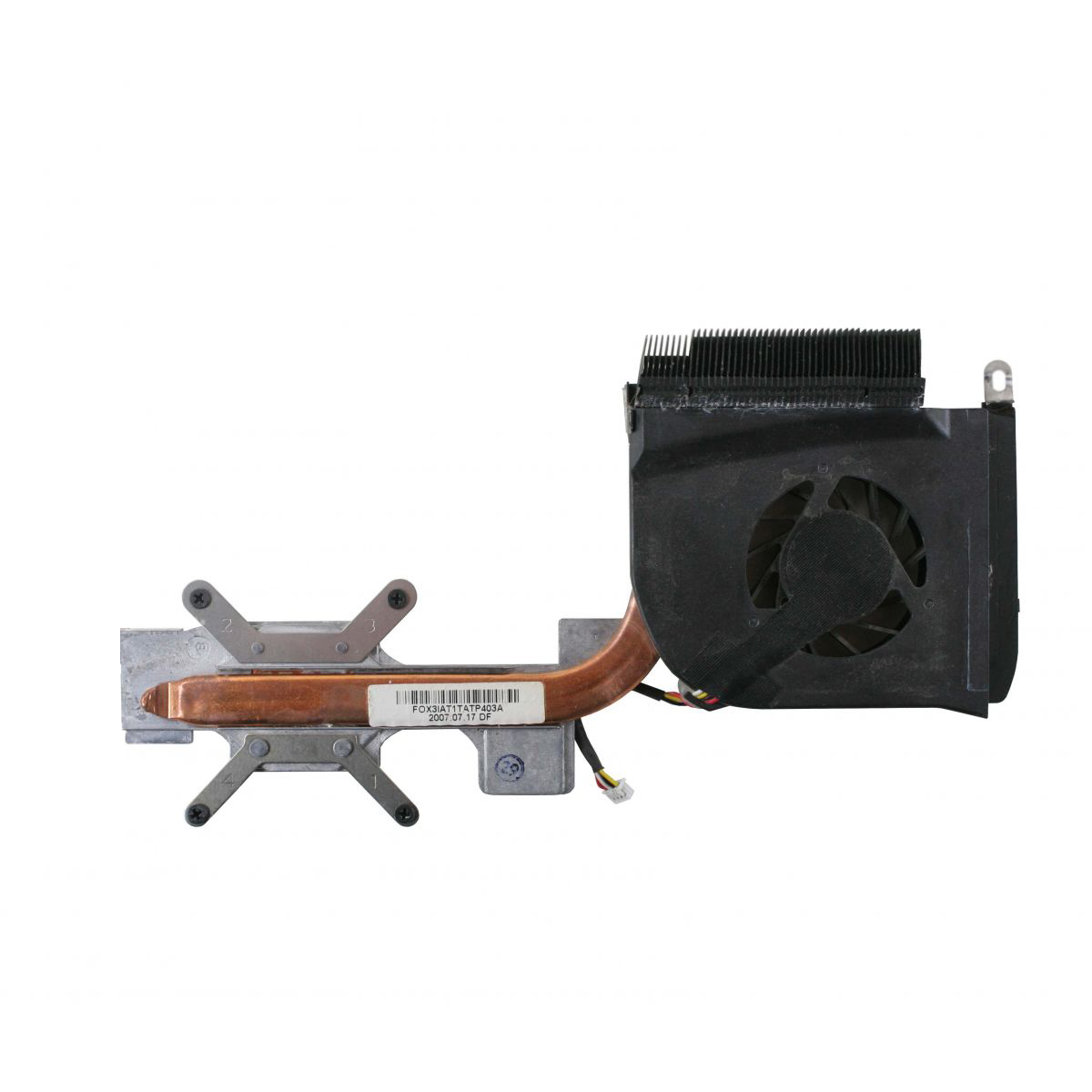 Cooler e Dissipador Notebook HP DV6000 451860-001
