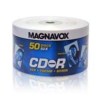 CD-R MAGNAVOX C/ 50 UNIDADES