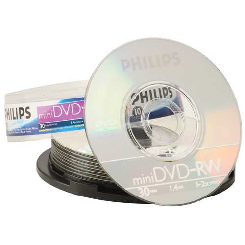 Mini DVD-RW Philips 1.4GB un.