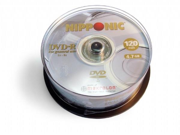 DVD Niponnic 4.7GB PINO C/ 25