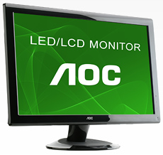 Monitor AOC E2236VWA 21,5´ LED WIDE