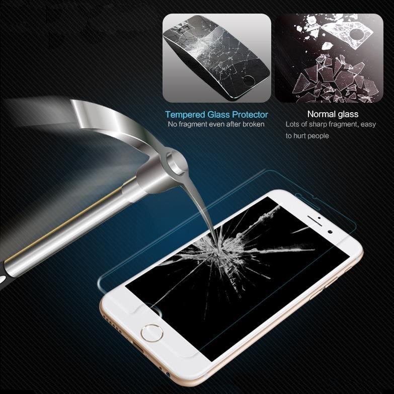 Pelicula de Vidro Temperado p/ celular Sony Xperia Z3 D6653 D6633 D6643 D6633